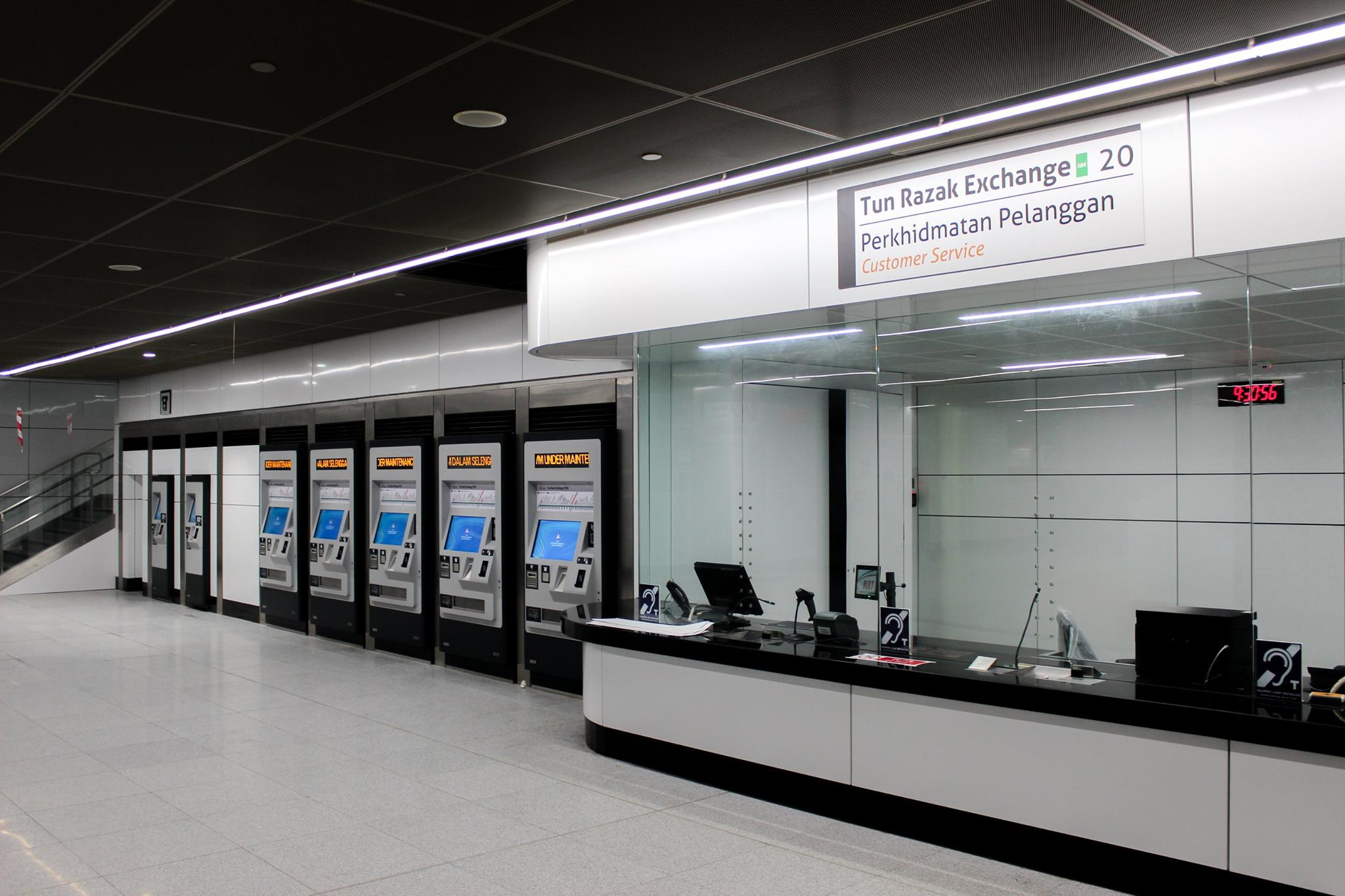 TRX Exchange Station PCIC