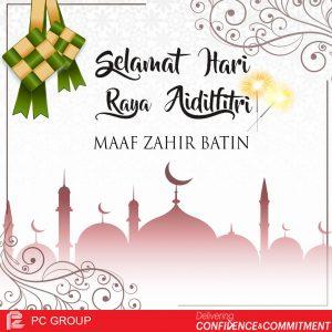 PCIC Selamat Hari Raya Eid mubarak